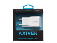 ATC21-U AXIVER charger USB 2.1A white box