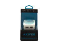 ATC-2U AXIVER charger 2 USB 2.1A white box