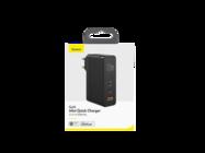 Baseus GaN2 Mini PD 120W USB-C charger 1x USB + USB-C - USB-C cable white box