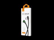CA-5773 Mcdodo cable USB Button microUSB 3m black box