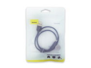 CALGH-A01 Halo Baseus cable lightning 0,5m 2,4A black bulk