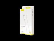 CALSW-02 Baseus cable USB - Lightning 1m 2,4A white box