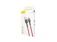 CATKLF-B09 Baseus cable Cafule USB / Type-C 1M 3A red box