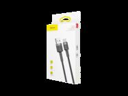 CATKLF-CG1 Baseus Cafule cable USB - Type-C 2m 2A gray-black box