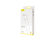 CATSW-02 Baseus cable USB - Type-C 1m 3A white box