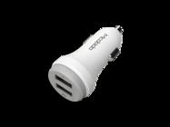 CC-3830 Mcdodo Pudding 2USB 2.4A car charger white box