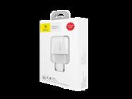 CCALL-MN02 Mini Dual-U Baseus Charger 2xUSB 2,1A white box
