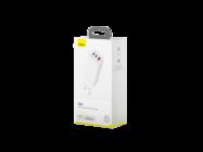 CCGAN-B02 Baseus GaN charger 3USB USB-A / 2xPD USB-C 65W white box