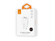 CH-6140 Mcdodo charger Suger 2xUSB 2,4A white box