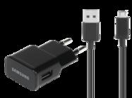 Charger Samsung charger black bulk + cable ECB-DU5ABE