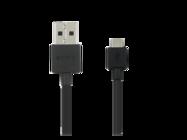 EC801 Sony cable micro USB black bulk