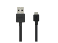 EC801 Sony cable USB black bulk
