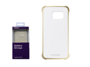 EF-QG925BFE Samsung Hard Cover Clear G925 Galaxy S6 Edge gold blister