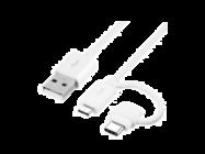 EP-DG930DW Samsung combo typ C + MicroUSB white bulk