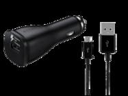 EP-LN915U Samsung Car Charger black bulk + ECB-DU4EBE cable