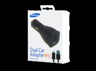 EP-LN920U Samsung car charger black box + cable ECB-DU4EBE plastic