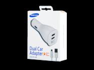 EP-LN920U Samsung car charger white box + cable ECB-DU4EWE plastic