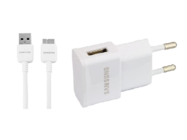 EP-TA10EWE Samsung Charger  white bulk + ET-DQ11Y1WE cable