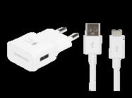 EP-TA20EWE Samsung charger white bulk + cable ECB-DU4AWE