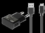 ETA0U81EBE Samsung charger black bulk + cable ECB-DU5ABE
