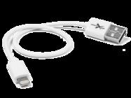 eXtreme cable 30cm lightning white bulk