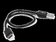 eXtreme cable 30cm USB 2.0 type-C black bulk