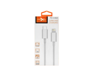 eXtreme cable USB-C - Lightning 1m 2A 18W white box