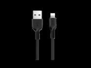 HOCO USB cable Flash X20 lightning 1m black box