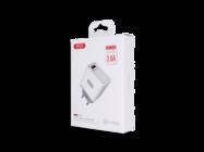 L32 XO 1xUSB charger QC 3.0 white box