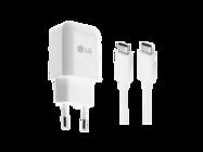 Ład. siec. MCS-N04 white bulk + kabel