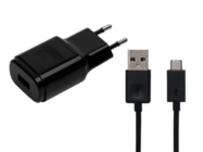 MCS-04ED LG charger black bulk + cable micro USB