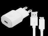 MCS-04ED LG charger white bulk + cable micro USB
