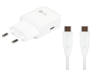 MCS-04ER LG Fast Charger 3A white bulk + EAD63687002 type-c cable