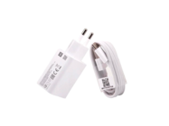 MDY-10-EF wall charger Xiaomi Q3 18W USB white bulk + cable Type-C