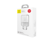 Mini Dual-U Baseus Charger 2xUSB 2,1A white box