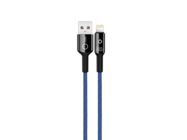 NB102 XO cable lightning 1m 2,4A blue box
