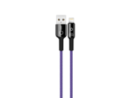 NB102 XO cable lightning 1m 2,4A purple box