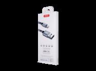 NB10 XO cable lightning 1m 2,4A gray box