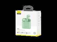 NGW09-06 Baseus earphones wireless TWS W09 green box