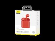 NGW09-09 Baseus earphones wireless TWS W09 red box