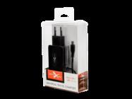 NTC21MU eXtreme charger micro USB+USB 2.1A black box