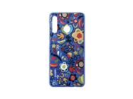 Plastic cover Huawei P30 Lite floral blue retail