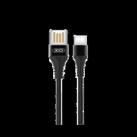 NB118 XO cable typ-C 1m 2,1A black box