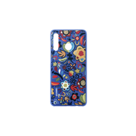 Plastic cover Huawei P30 Lite floral blue retail