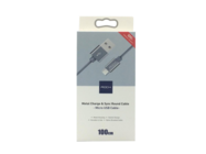 RCB0460 ROCK Micro USB cable nylon gray box