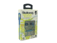 #S2PGFY-327 Skullcandy Smokin' Buds 2 headset blue/lime retail