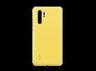 Silicone Case Huawei P30 yellow retail