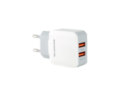 SMS-A13 Somostel wall charger + lightning cable 2A 2xUSB white box