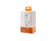 SMS-A44 Somostel car charger 2,1A 2xUSB white box