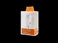 SMS-A44 Somostel car charger 2,1A 2xUSB white box